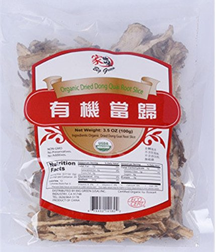 Angelica Sinensis Root - Organic Dried Dong Quai Root Slice Angelica sinensis Root 当归