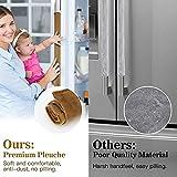 Nuovoware Refrigerator Door Handle Covers Set of