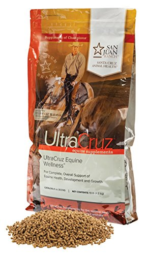 UltraCruz sc-363149 Equine Wellness Supplement for Horses 10 lb. Pellets (Palatable Zinc Supplement)