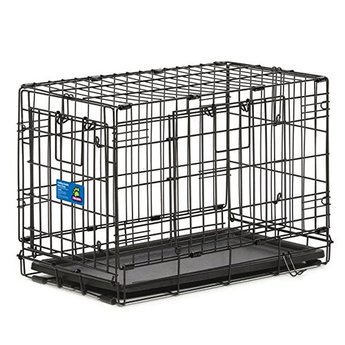 "Top Paw Double Door Wire Dog Crate Size : 22""L x 13""W x 16""H *Top Paw"