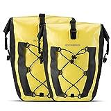 ROCK BROS Bike Pannier Waterproof 27L Large Capacity Bike Bag Rear...