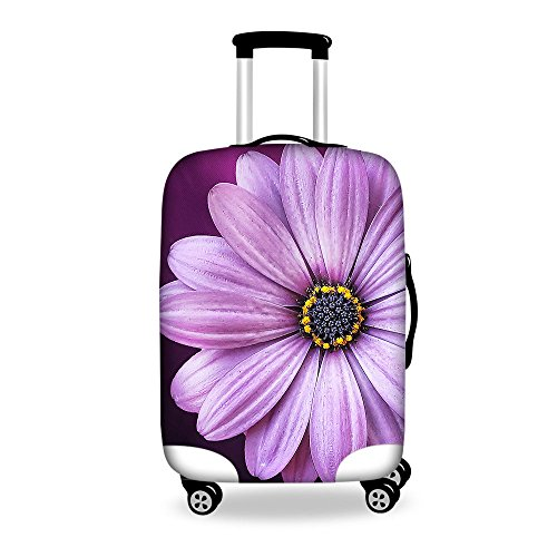 HUGS IDEA Elastic Butterfly Print Travel Luggage Protective Covers
