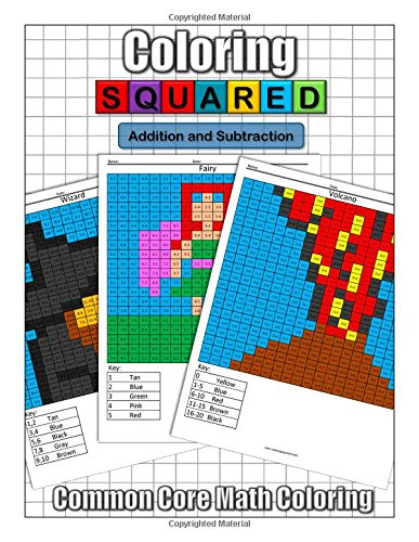 Coloring Squared: Addition and Subtraction: Cameron Krantzman ...