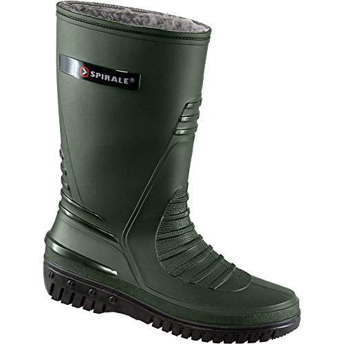 Terrax 70317-42-4400 Spiral Bottes d'hiver Taille 42 Vert olive