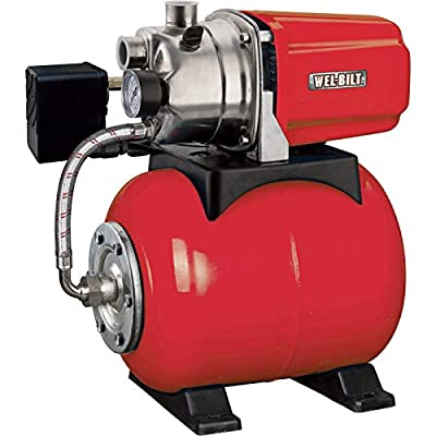 Shallow Well Pump, 1 HP, 898 GPH