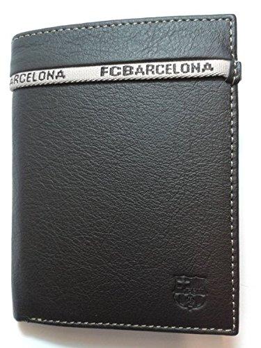 REGALOS LLUNA CARTERA PIEL F.C.BARCELONA (NEGRO C/MONEDERO ...