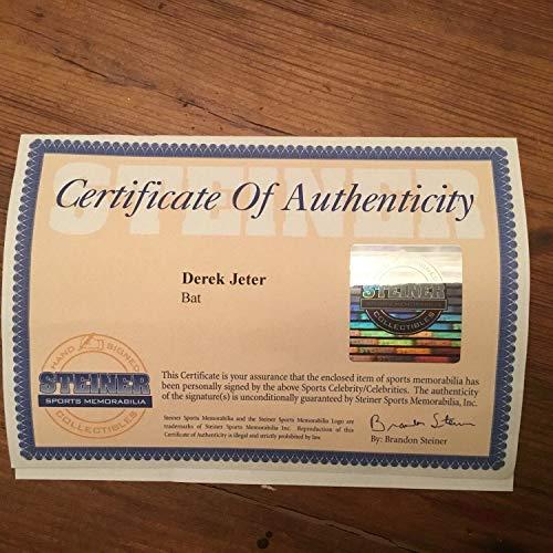 Derek Jeter Autographed Signed Memorabilia Game Model P72 Baseball Bat Vintage Autograph Steiner -