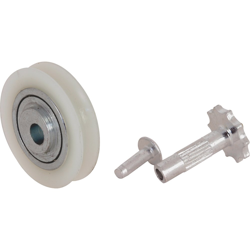 Prime Line Products D 1505 Sliding Door Roller 1 7/16 Inch, Offset Center  Nylon Ball Bearing, Pack Of 2   Door Lock Replacement Parts   Amazon.com