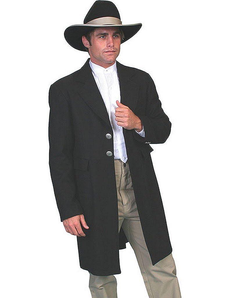 Wahmaker By Scully Men's Wool Frock Coat - 511099 Black 072B11