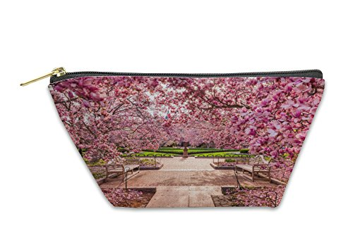 Gear New Accessory Zipper Pouch, Smithsonian Washington Dc Spring Foliage Near National Mall, Small, - Of At Mall America Stores New