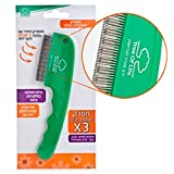 Two Row Lice Comb Patent Highly Effective in Removing Lice and Nits