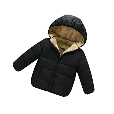 04ab38de2 Amazon.com  AHZZY Toddler Baby Winter Jacket Kids Clothes Hooded ...