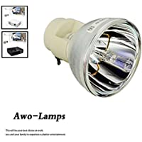 AWO SP.8VH01GC01 BL-FP190E BL-FP190D Premium Projector Bare Lamp Bulb Replacement For OPTOMA DH1009 HD141X GT1080 HD26 EH200ST S316 X316 W316 DX346 BR323 BR326