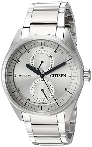 Citizen-Mens-Dress-Quartz-Stainless-Steel-Casual-Watch-ColorSilver-Toned-Model-BU3010-51H