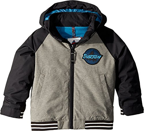 Burton Boys Minishred Gameday Jacket, Bog Heather/True Black, - Bomber Burton
