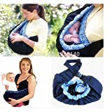 Adjustable New Born Front Baby Infant Carrier Pure Cotton Cloth Baby Slings Child Wrap Bag Rider Backpack Cradle Pouch Ring by U Happy
