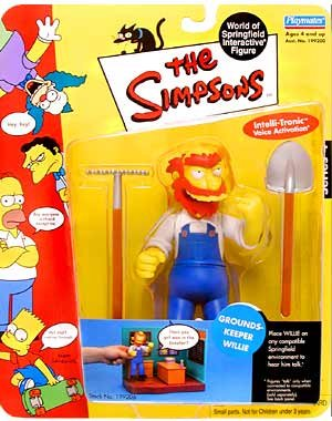The Simpsons World of Springfield Groundskeeper Willie Series 4]()