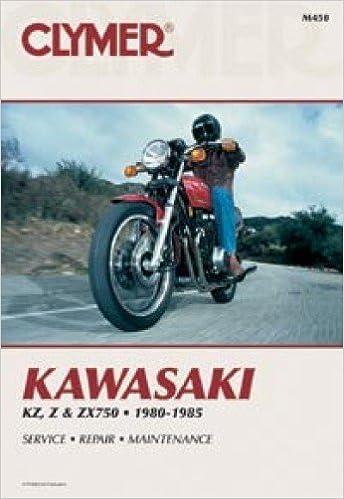 M450 Kawasaki KZ750 Z750 ZX750 Motorcycle Repair Manual 1980 ... on