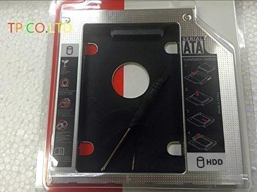 2nd SATA Hard Drive HDD SSD Caddy Adapter for Lenovo IdeaPad Z40-70 Z50-70 Z50-75 Z70-80