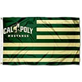 Cheap Cal Poly Mustangs Stars and Stripes Nation College Flag