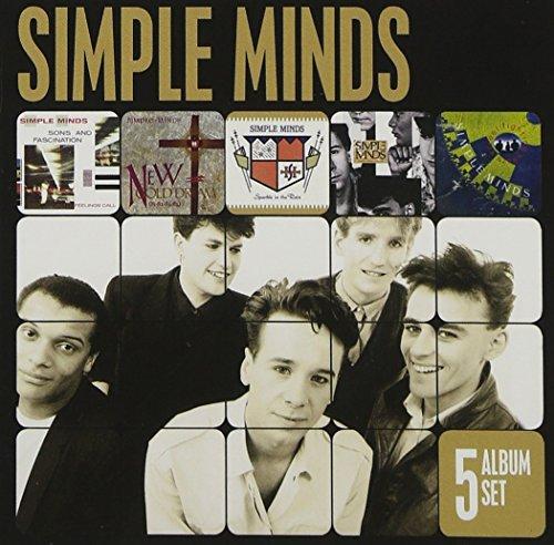 CD : Simple Minds - 5 Album Set (Holland - Import, 5 Disc)