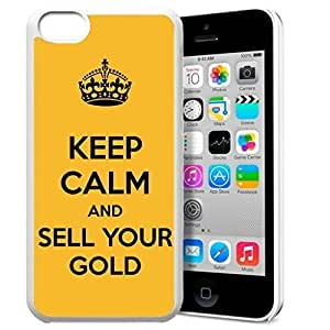 diy phone caseKeep Calm and Sell Your Gold Pattern HD Durable Hard Plastic Case Cover for ipod touch 4 Design By GXFC Casediy phone case