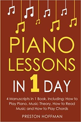 Piano Lessons In 1 Day Bundle The Only 4 Books You Need To