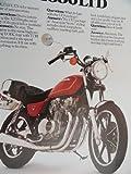 1980 1981 Kawasaki KZ 550 LTD Sales Brochure