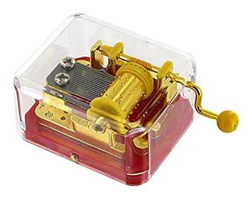 Caja de música de manivela de alta calidad - Once upon a december - Anastasia: Amazon.es: Juguetes y juegos
