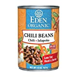 Chili Beans With Jalapeo Chili Peppers Organic - Bpa Free Lined Can (Pack of 12)