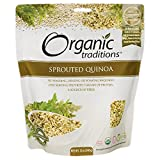 Sprouted Royal White Quinoa Organic Traditions 12 oz Seed For Sale