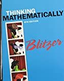 Thinking Mathematically with Integrated Review Plus MyMathLab Student Access Card and Sticker, Blitzer, Robert F., 032198644X