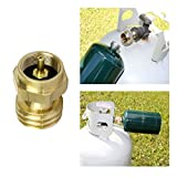 PanelTech 1lb Propane Refill Adapter Universal for QCC1 /Type1 Tank Gas Cylinder LP Heater Camping Fishing Brass