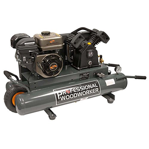 Professional Woodworker 9528 6.5 HP Gas Powered Air Compr...