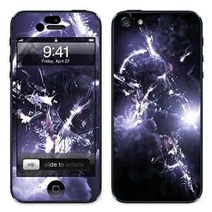 Diabloskinz B0081-0034-0041 - Vinilo adhesivo para Apple iPhone 5 y 5 S, diseño de tormenta