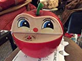 Hong Kong 1970s Apple Bank - Worm Creeps Out and Snatches Your Coin