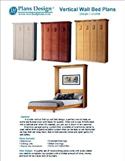 Murphy Craftsman Vertical Queen Size Wall Murphy Bed Woodworking