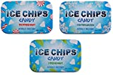 ICE CHIPS Candy 3 Pack Assortment (Peppermint, Wintergreen, Spearmint)