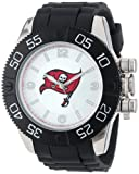 Game Time Men's NFL-BEA-TB Beast Tampa Bay Buccaneers Round Analog Watch, Watch Central