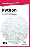 Python Interview Questions You'll Most Likely Be Asked: Volume 23 (Job Interview Questions)