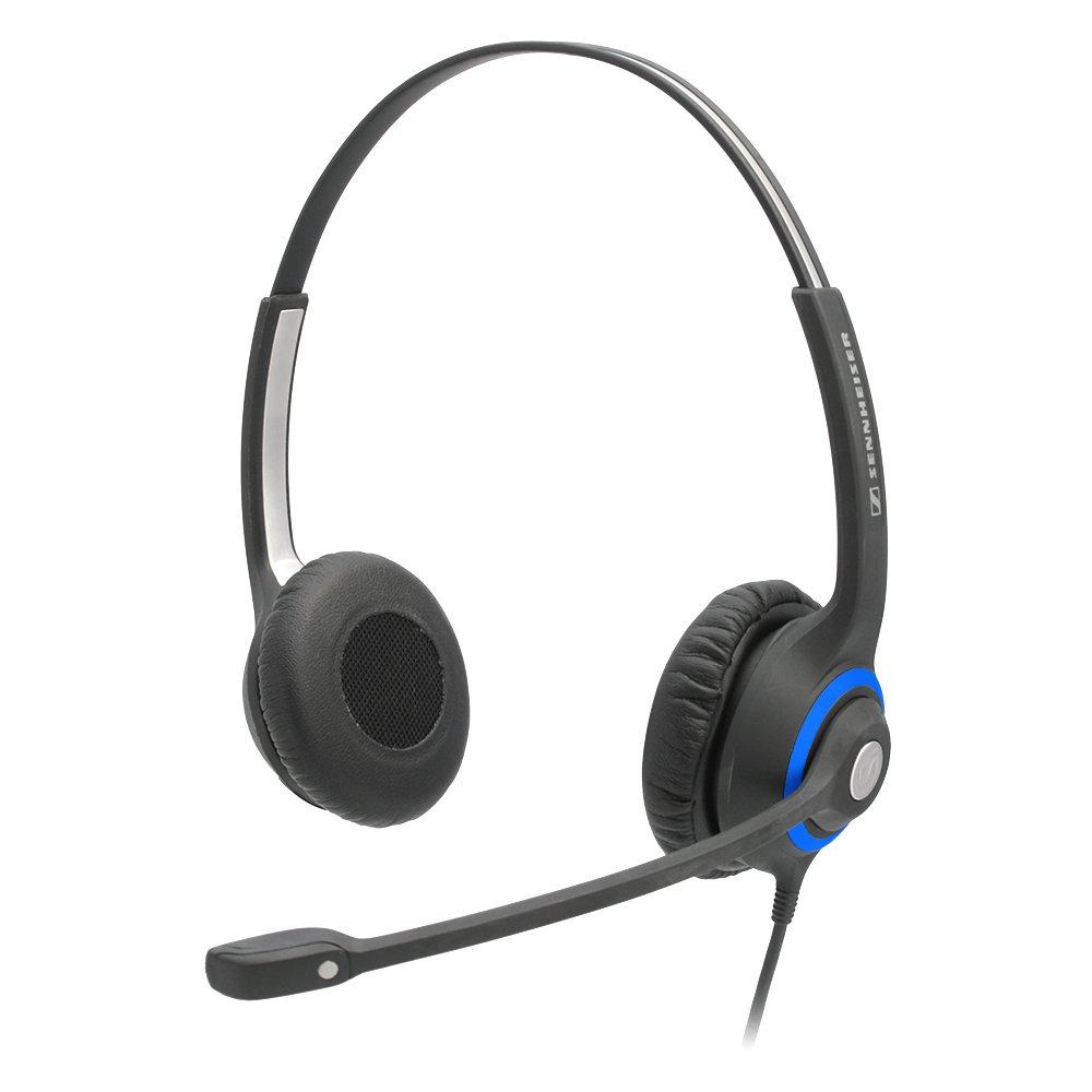 DeskMate Dual-Ear Corded Office Telephone Headset Sennheiser HSC 260