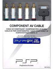 Sony PSP Go Component AV Cable - accesorios de juegos de pc (Negro, Alámbrico)