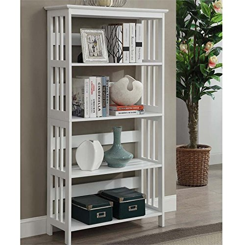 Convenience Concepts Mission 5-Tier Bookcase,