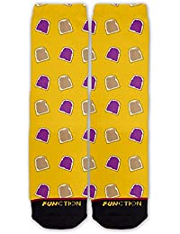 Function - Peanut Butter and Jelly Pattern Sock