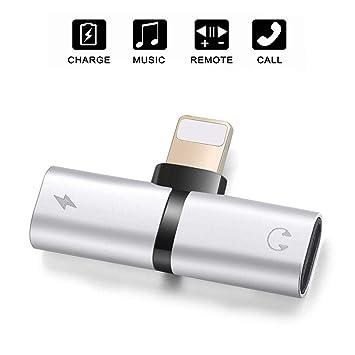 DAEETO Adaptador de Conector para Auriculares iPhone / 8 / X ...