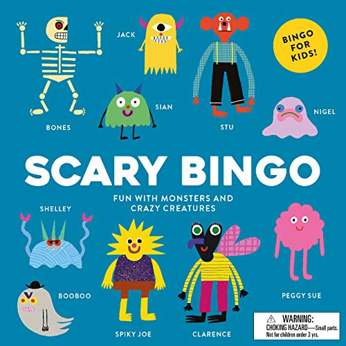 Name A Scary Halloween Monster (Scary Bingo: Fun with Monsters and Crazy)