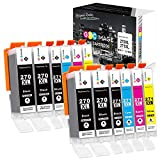 GPC Image Compatible Ink Cartridge Replacement for Canon PGI-270 271 Ink Cartridges to use with PIXMA MG6820 MG6821 MG7720 MG5720 MG5722 TS6020 Printer (PGBK, Black, Cyan, Magenta, Yellow, 12 Pack)