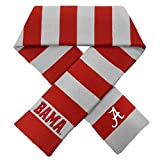Forever Collectibles Alabama Crimson Tide Official NCAA Adult One Size Striped Rugby Scarf by 380554
