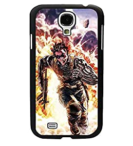 CooJedy Vogue Superhero DC Comics Hard Funda Case Cover for Samsung Galaxy S4 i9500 - Winter Soldier