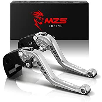 Amazon.com: MZS Short Levers Brake Clutch CNC Black ...